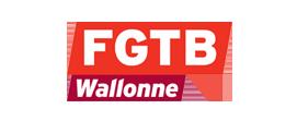 Logo FGTB Wallonne | Partenaire de la FGTB Bruxelles
