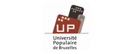 Logo Université populaire de Bruxelles | Partenaire de la FGTB Bruxelles