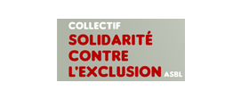 Logo du Collectif Solidarité contre l'exclusion asbl | Partenaire de la FGTB Bruxelles
