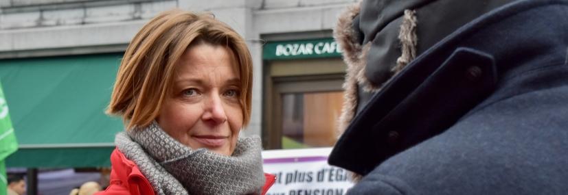 Estelle Ceulemans FGTB Bruxelles